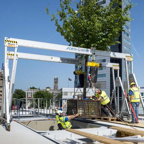opdracht Arbor Consultancy moreelsebrug Utrecht op de plek plaatsen